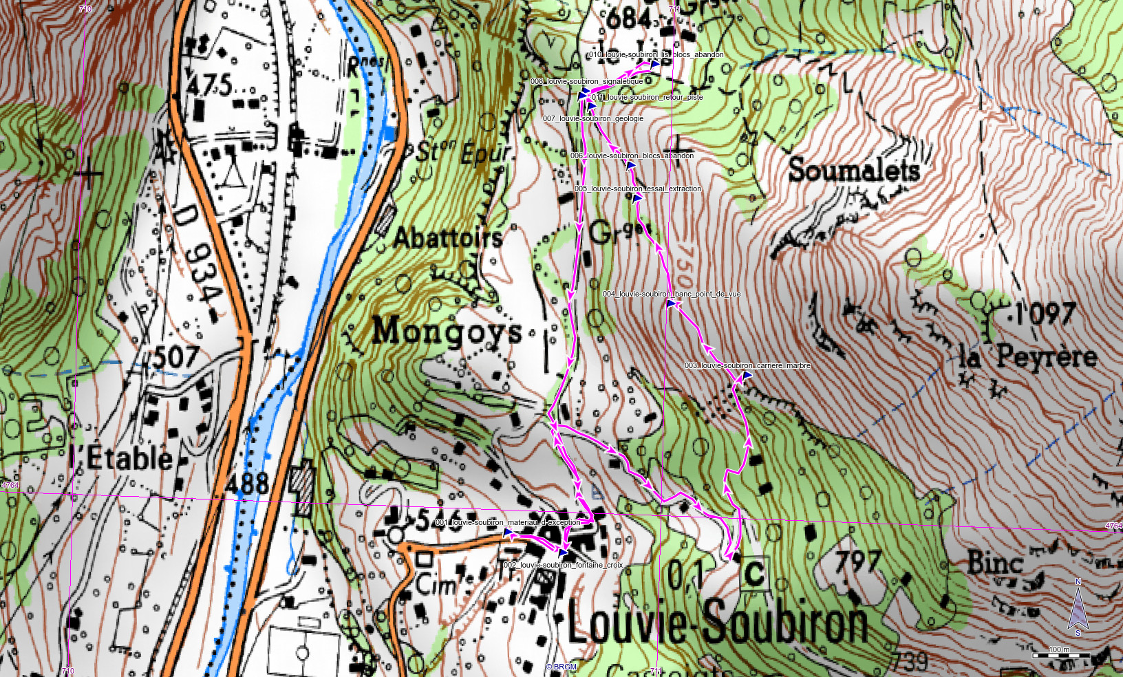 GeolVal 20190316 louvie soubiron carrieres ign